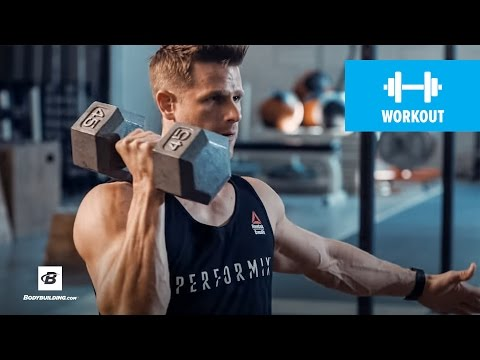 Chest and Abs Superset Workouts Using Dumbbell and Barbell Plate