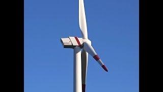 Wind farm Zerbst with wind turbine ENO energy 82, 2.05 MW