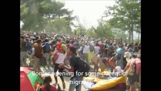 Völkerflut rollt auf Deutschland zu ( Flood of peoples underway to Germany )