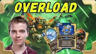 Thijs tries new Overload Sapphire Spellstone control shaman (Kobolds and Catacombs)