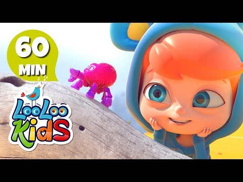 Itsy Bitsy Spider - Fun Songs for Children | LooLoo Kids