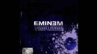 Eminem - Under The Influence (feat D12) [Chopped & Screwed by DJ Howie]
