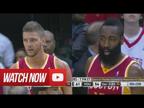 2014.03.29 - James Harden & Chandler Parsons Full Combined Highlights vs Clippers
