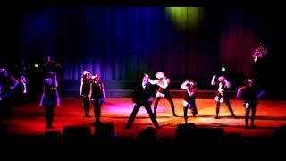 Театрализованное представление ко Дню учителя 'Школьный Джаз' (The School-Jazz) Харьков, 2013