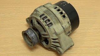 видео Ваз 2112: замена генератора своими руками