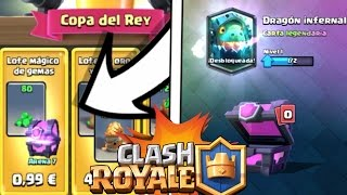 super offer! | The Copa del Rey | The best Magic chest | Clash Royale with DJRgamer