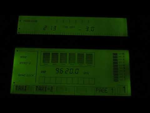 ALL INDIA RADIO [ALIGARH, 250KW] — 9620 KHZ — [30 JAN. 2018 13.13 UTC]