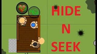 Surviv.io | Hide N Seek - 16 Kills in 2 Seconds