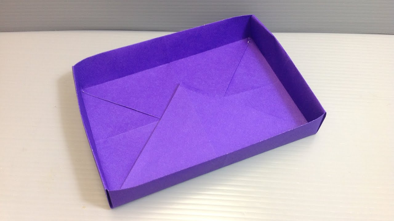 Make ANY SIZE Rectangular Box Origami
