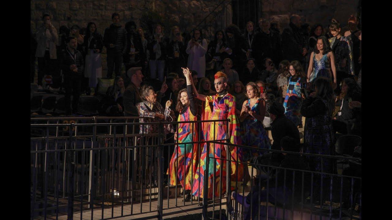 HÍDAS Fashion Show at the global Forbes 30 Under 30 event - Tower of David, Jerusalem