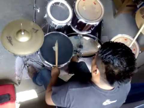 Calentano style cover bateria- la historia musical