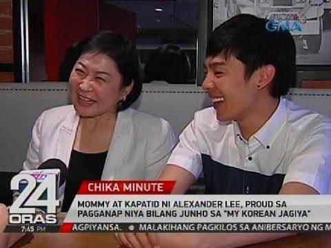 """Mommy at kapatid ni Alexander Lee, proud sa pagganap niya bilang Junho sa """"My Korean Jagiya"""""""