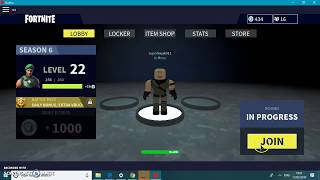 Playing Roblox Fortnite WIth ZD BOI ft VilleGuide