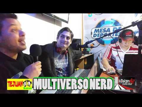 Multiverso Nerd 14-10-16 - Kosten Radio 95.9 - Rio Gallegos