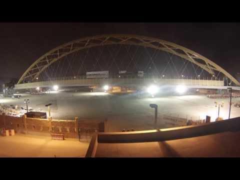 NSA Bahrain Bridge Move Timelapse