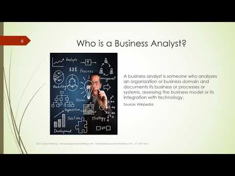 Become a Business Analyst   S&G Career Training
