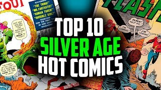 Top 10 ALL TIME SILVER AGE Comic Books - Overstreet 48th Edition 2018