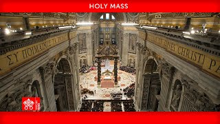 July 25 2021 Holy Mass for the First World Day for Grandparents and the Elderly