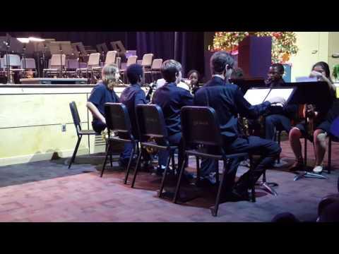 Edgewater High School Band Sax (Star) Wars