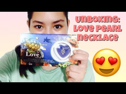 UNBOXING: Love Pearl necklace (Cultured Pearl) from Palawan.