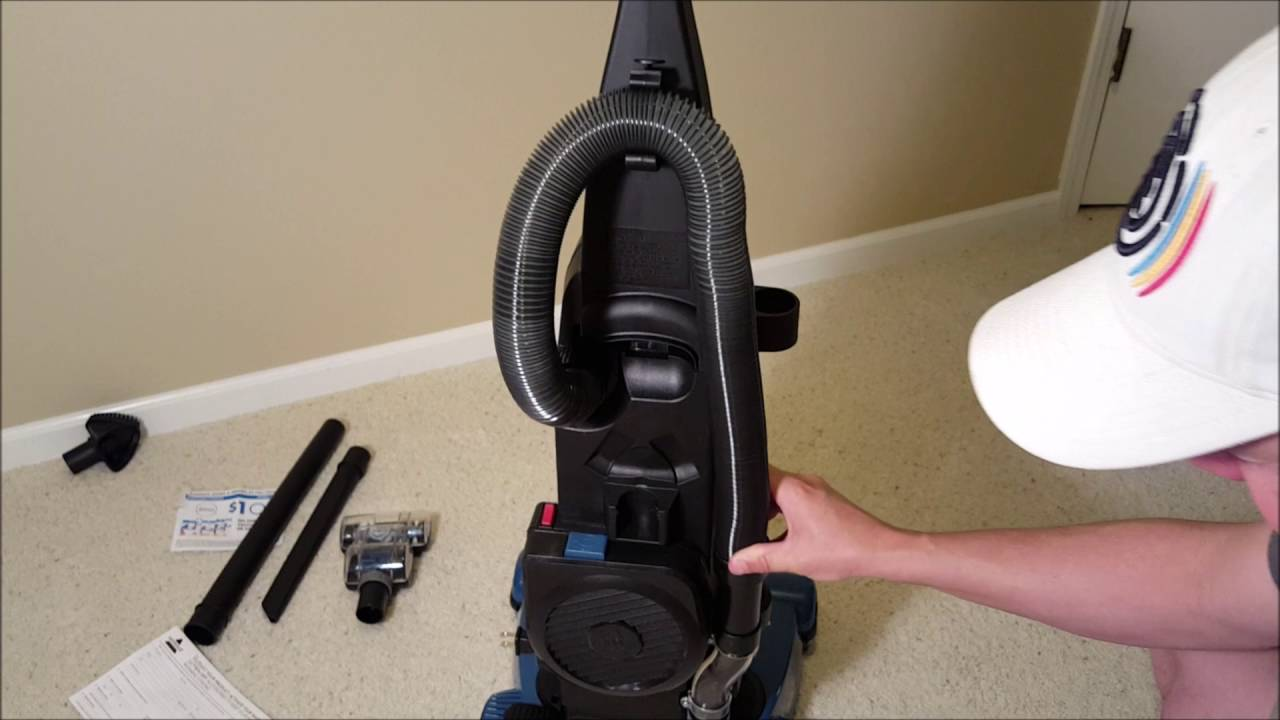 Bissell Powergroom Helix Rewind Vacuum Part 2 Of 3
