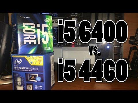 Skylake vs. Haswell: i5 6400 vs. i5 4460