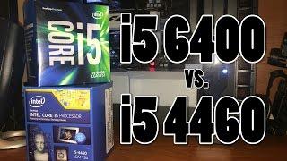 skylake vs haswell i5 6400 vs i5 4460