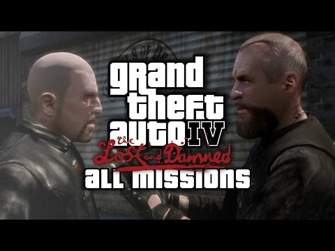 GTA: The Lost And Damned - All Missions Walkthrough (1080p 60fps)