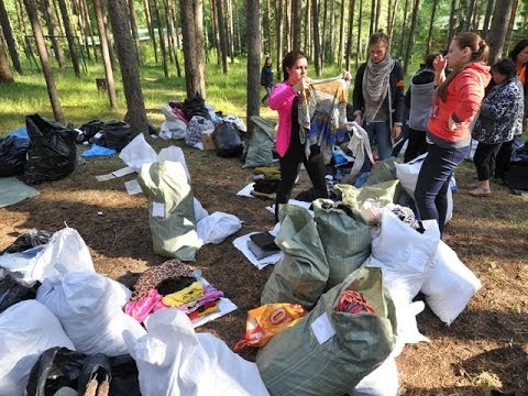 Корреспонденты КП побывали в одном из лагерей для беженцев в Московской области