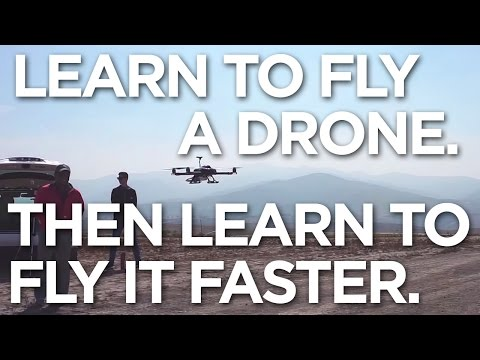 AD-Talon by Action Drone! Learn to fly then fly faster