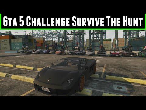 FailRace Gta 5 Challenge Survive The Hunt