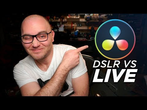 Trying DaVinci Resolve For the First Time LIVE!