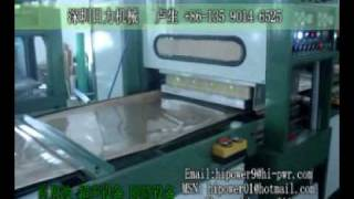 High Frequency Clear Pvc Box Making Machines, Soft Crease Forming Machine