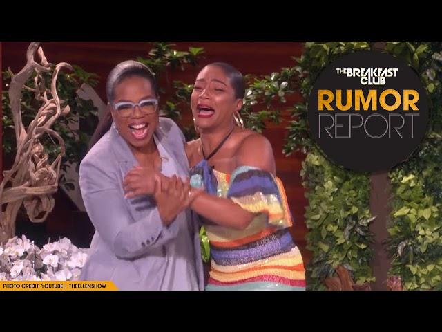 Tiffany Haddish Cries Buckets Meeting Her Idol Oprah
