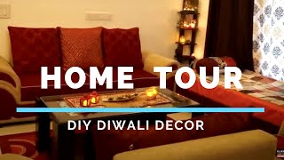 Indian Home tour 2018| Living Room Makeover | Diwali Special