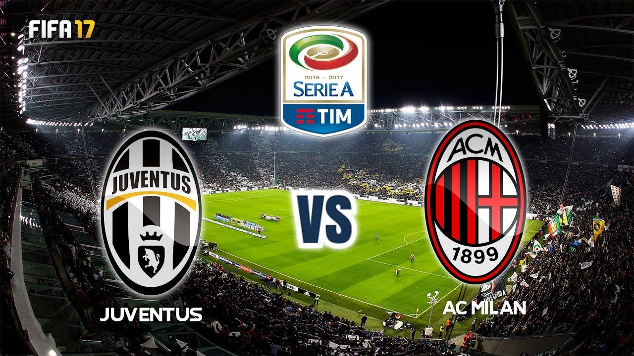 Juventus vs ac milan serie a 2016 17 week 28 fifa 17 for Fifa 17 milan
