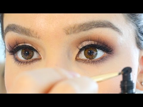 How to Apply False Lashes PERFECTLY   Talk through tutorial