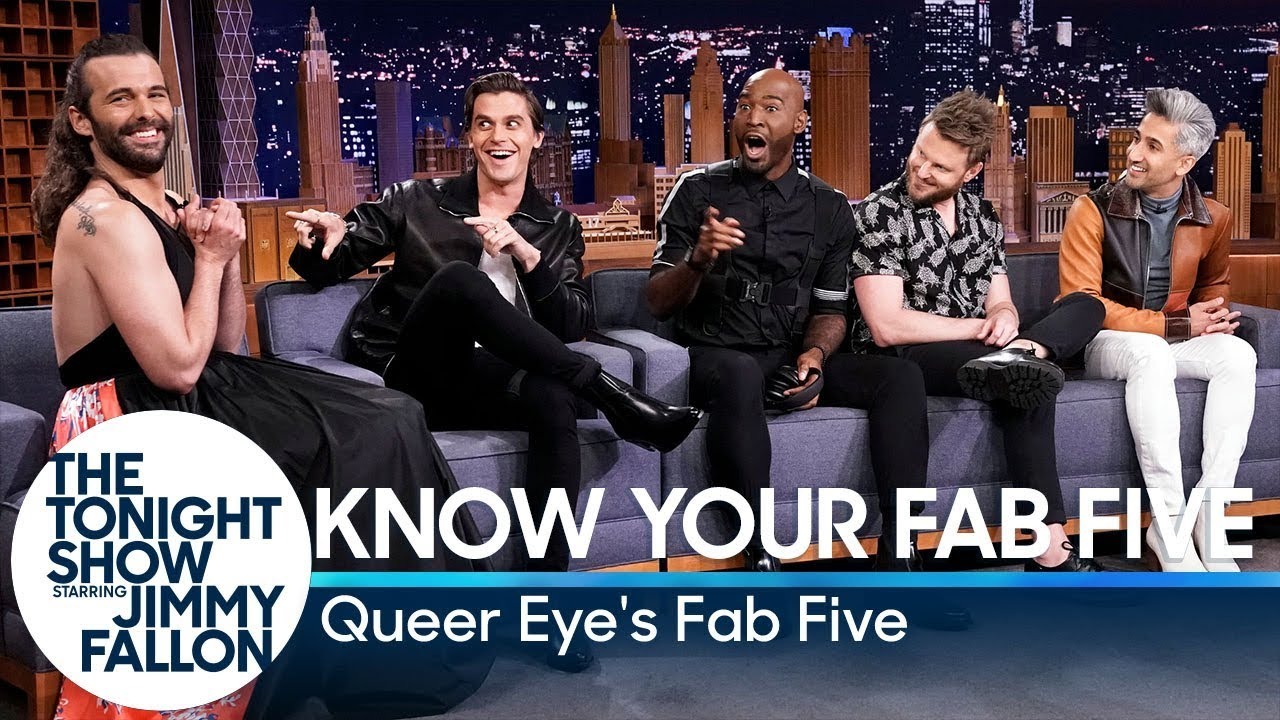 [VIDEO] - Know Your Fab Five with Queer Eye's Fab Five 5