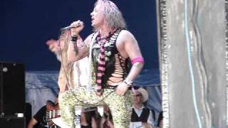 Steel Panther at Download Festival 2009