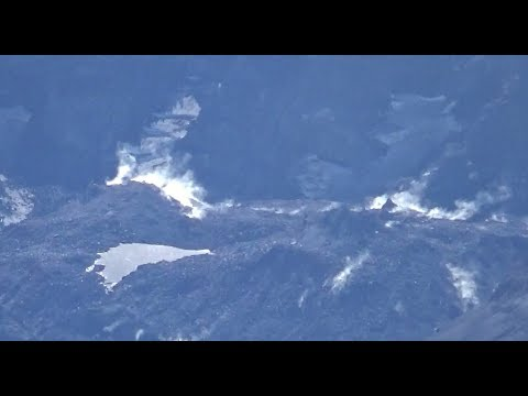Mount St Helens Resurgent Dome Steaming On Sept. 12, 2019