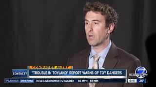Trouble in Toyland report warns about dangerous toys
