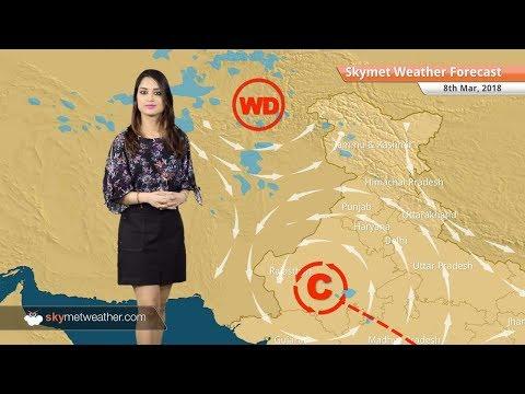 Weather Forecast for Mar 8: Rain in Jaipur, Rajasthan; warm weather in Delhi, Mumbai, Chennai