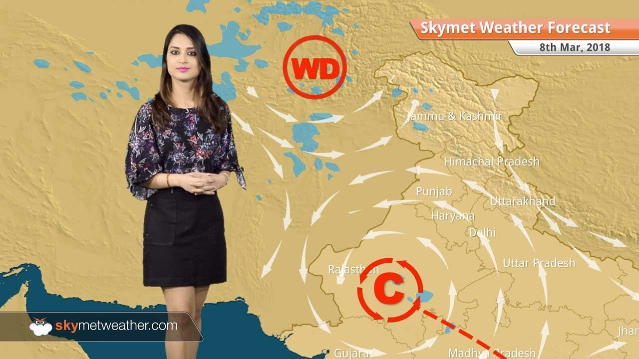 Weather Forecast for Mar 8: Rain in Jaipur, Rajasthan