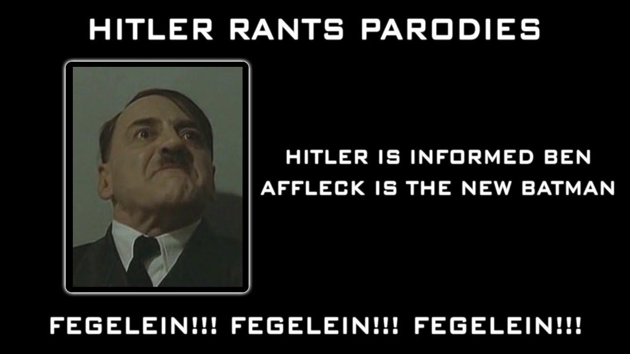 Hitler is informed Ben Affleck is the new Batman