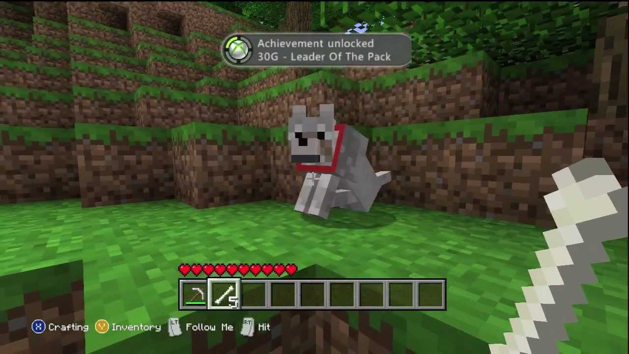minecraft xbox 360 leader of the pack achievement guide youtube rh youtube com guide succes minecraft xbox 360 minecraft xbox 360 instructions