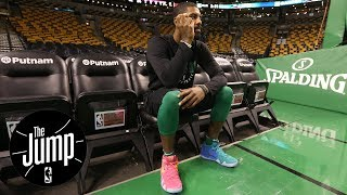Kyrie Irving is being sensitive about the Cavaliers-Celtics trade | The Jump | ESPN