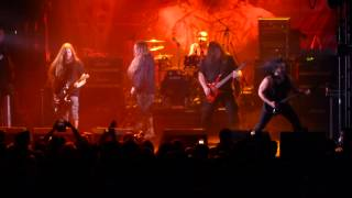 Obituary - Centuries Of Lies & Visions In My Head, Live In London,1st Feb 2015 (2cam mix)
