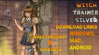 Witch Trainer Silver Mod [v1. 35] [New] walkthrough+save data