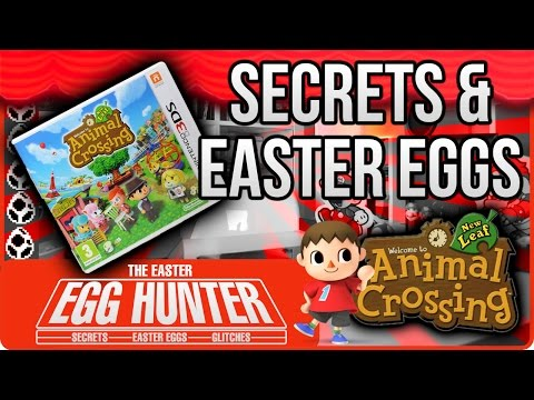 Animal Crossing New Leaf Secrets & Easter Eggs - The Easter