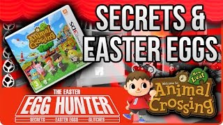 Animal Crossing New Leaf Secrets - The Easter Egg Hunter